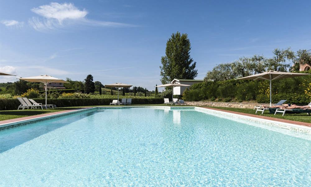 Salt Water Pool 183 Poggio Al Casone Wine Resort